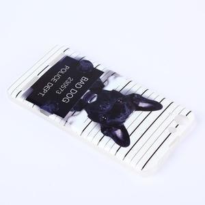 Softy gelový obal na mobil Lenovo Vibe K5 / K5 Plus - zlý pes - 3