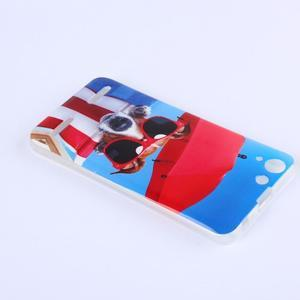 Softy gelový obal na mobil Lenovo Vibe K5 / K5 Plus - pejsek - 3
