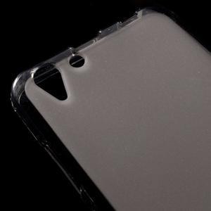 Matný gelový obal na mobil Lenovo Vibe K5 / K5 Plus - šedý - 3
