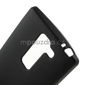 Matný gelový kryt na LG Spirit - černý - 3