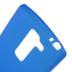 Matný gelový kryt na LG Spirit - modrý - 3