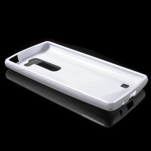 S-line gelový obal na LG Spirit 4G LTE - bílý - 3