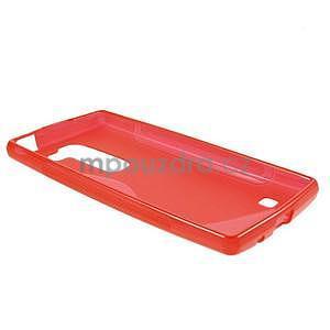 S-line gelový obal na LG Spirit 4G LTE - červený - 3
