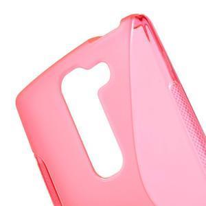 S-line gelový obal na LG Spirit 4G LTE - rose - 3
