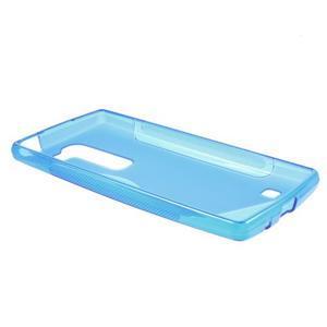 S-line gelový obal na LG Spirit 4G LTE - modrý - 3