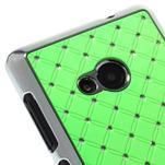Drahokamový kryt na Microsoft Lumia 535 - zelený - 3/5