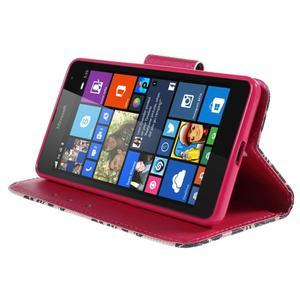 Peněženkové pouzdro Microsoft Lumia 535 - mašlička - 3