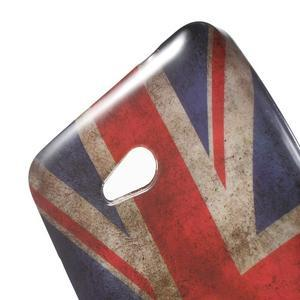 Gelový obal Microsoft Lumia 640 LTE - vlajka UK - 3