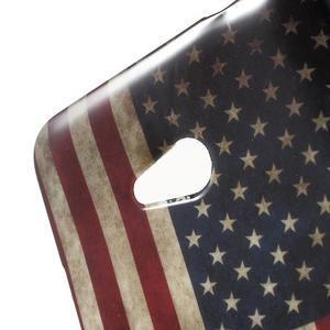 Gelový obal Microsoft Lumia 640 LTE - vlajka US - 3