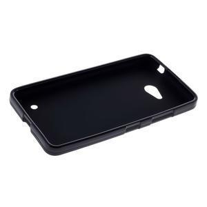 Matný gelový kryt na Microsoft Lumia 640 LTE - černý - 3