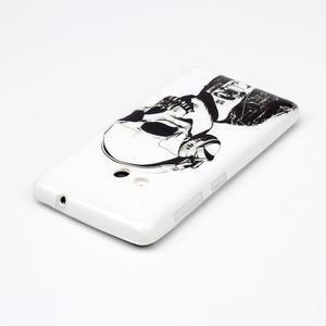 Soft gelový obal na mobil Microsoft Lumia 535 - skull - 3