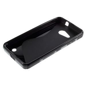S-line gelový obal na mobil Microsoft Lumia 550 - černý - 3