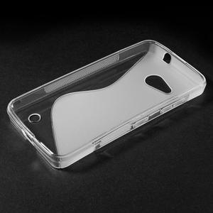 S-line gelový obal na mobil Microsoft Lumia 550 - transparentní - 3