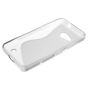 S-line gelový obal na mobil Microsoft Lumia 550 - šedý - 3