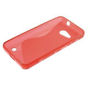 S-line gelový obal na mobil Microsoft Lumia 550 - červený - 3