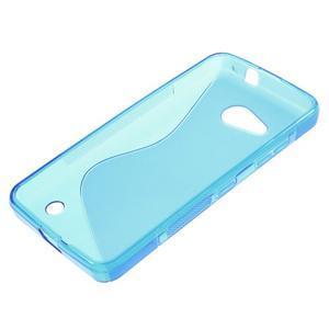 S-line gelový obal na mobil Microsoft Lumia 550 - modrý - 3