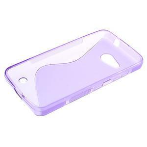 S-line gelový obal na mobil Microsoft Lumia 550 - fialový - 3