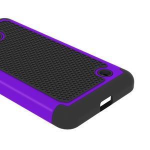 Odolný hybridní kryt na mobil Microsoft Lumia 640 - fialový - 3
