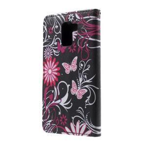 Cross peněženkové pouzdro na Huawei Honor 7 - kouzelní motýlci - 3