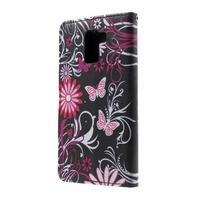 Cross peněženkové pouzdro na Huawei Honor 7 - kouzelní motýlci - 3/6