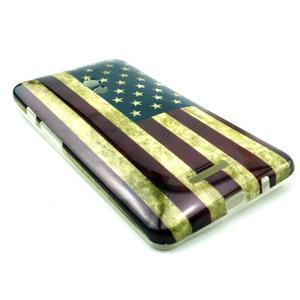 Soft gelový obal na Asus Zenfone 5 - US vlajka - 3