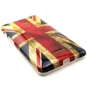 Soft gelový obal na Asus Zenfone 5 - UK vlajka - 3