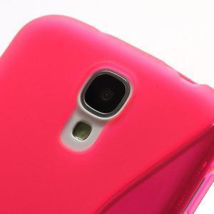 S-line gelový obal na Samsung Galaxy S4 - rose - 3