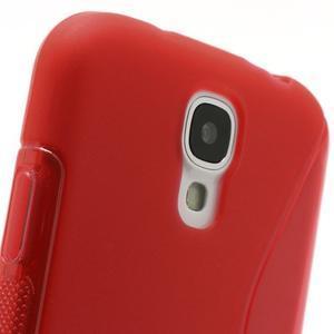 S-line gelový obal na Samsung Galaxy S4 - červený - 3