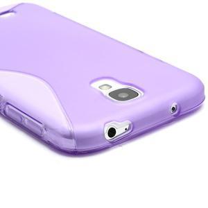 S-line gelový obal na Samsung Galaxy S4 - fialový - 3