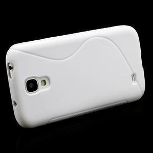 S-line gelový obal na Samsung Galaxy S4 - bílý - 3