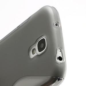 S-line gelový obal na Samsung Galaxy S4 - šedý - 3