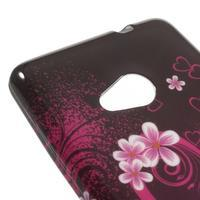 Soft gelový obal na Microsoft Lumia 535 - srdce - 3/4