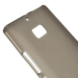 Matný gelový kryt pro Nokia Lumia 930 - šedý - 3