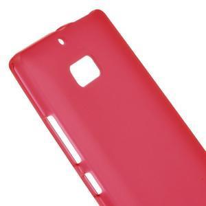Matný gelový kryt pro Nokia Lumia 930 - červený - 3