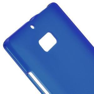 Matný gelový kryt pro Nokia Lumia 930 - modrý - 3