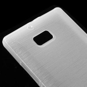 Gelový obal s broušeným vzorem Nokia Lumia 930 - bílý - 3