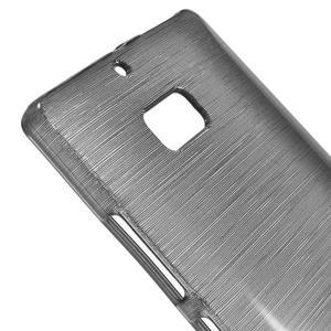 Gelový obal s broušeným vzorem Nokia Lumia 930 - šedý - 3