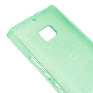 Gelový obal s broušeným vzorem Nokia Lumia 930 - cyan - 3