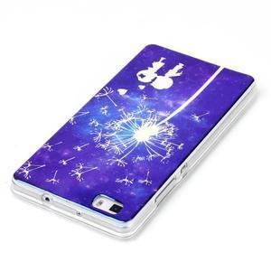 Blu-ray magic gelový obal na Huawei Ascend P8 Lite - zamilovaný pár - 3