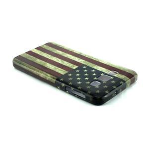 Gelový kryt na Samsung Galaxy A3 - vlajka USA - 3