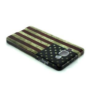 Gelový kryt Samsung Galaxy A5 - vlajka USA - 3