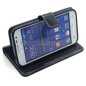 Černé pouzdro na Samsung Galaxy Core Prime - 3