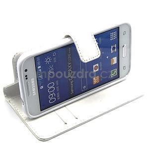 Bílé pouzdro na Samgung Galaxy Core Prime - 3