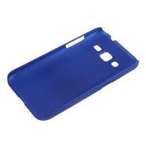 Pogumový plastový obal na Samsung Galaxy Core Prime - modrý - 3