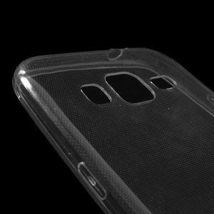 Ultra tenký slim obal na Samsung Galaxy Core Prime - šedý - 3