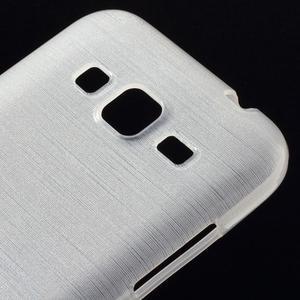 Broušený gelový kryt na Samsung Galaxy Core Prime - transparentní - 3