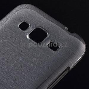 Broušený gelový kryt na Samsung Galaxy Core Prime - šedý - 3