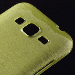 Broušený gelový kryt na Samsung Galaxy Core Prime - zelený - 3