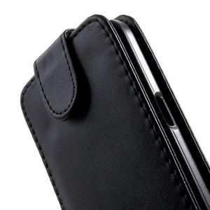Černé flipové pouzdro na Samsung Galaxy Core Prime - 3