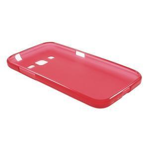 Červený matný gelový kryt Samsung Galaxy Core Prime - 3